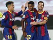 سلتا فيجو ضد برشلونة.. ميسي وجريزمان يقودان تشكيل البارسا فى الليجا
