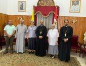 بطريرك الكاثوليك يوقع عقد نقل ملكية مدرسة جيرار بالإسكنرية