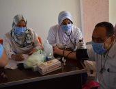 """الكشف على العاملين بـ""""تعليم جنوب سيناء"""" ضمن حملة 100 مليون صحة.. صور"""