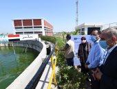 رئيس الوزراء يتفقد محطة معالجة مياه الصرف الصحي بكفر الشيخ