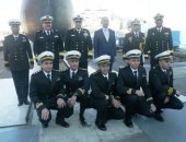 القوات البحرية تحتفل بتدشين الغواصة الرابعة S-44 من طراز 209/1400 ألمانية الصنع