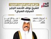 من هو أمير الكويت الجديد الشيخ نواف الأحمد الجابر المبارك الصباح؟.. إنفوجراف