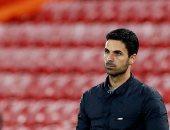 أرتيتا: ليس من السهل الفوز بالعلامة الكاملة في الدوري الأوروبي