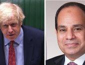الحكومة البريطانية: جونسون رحب بالشراكة القوية مع مصر خلال اتصال بالسيسى