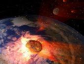 هل تسبب اصطدام كويكب بالأرض قبل 66 مليون عام فى حجب الشمس وقتل الديناصورات؟