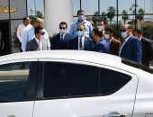 محافظ الفيوم يشهد بدء عمل أول سيارة للضبطية القضائية لحماية المستهلك.. صور