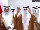 ملك البحرين يهنئ الشيخ نواف الأحمد بتسلمه مقاليد الحكم فى الكويت