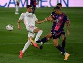 ريال مدريد يفشل فى فك لغز دفاعات بلد الوليد بالشوط الأول من الليجا