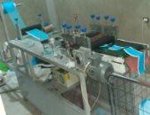 ضبط مصنع غير مرخص لتصنيع الكمامات بالاسكندرية