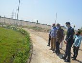 محافظ القليوبية يتفقد المنطقة الاستثمارية وقصر محمد على.. صور