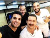 """هكذا يظهر نضال الشافعى فى مسلسل """"فى يوم وليلة"""" مع أحمد رزق.. صور"""