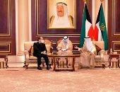 لحظة وصول السيسي إلى الكويت لتقديم واجب العزاء في الشيخ صباح الأحمد