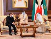 السيسي يصل الكويت لتقديم العزاء في وفاة الشيخ صباح الأحمد