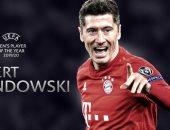 ليفاندوفسكى يتوج بجائزة أفضل لاعب فى أوروبا 2020