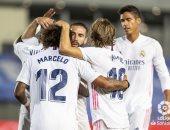 ريال مدريد يعبر بلد الوليد بهدف وحيد فى الدوري الإسباني