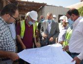 محافظ القليوبية يتفقد عددا من المشروعات بالمحافظة لدفع الأعمال بها