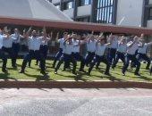 """الشرطة النيوزيلندية تؤدي رقصة """"هاكا"""" لتكريم زميلهم المقتول جنوب لندن.. فيديو"""