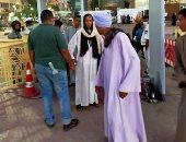 """مروة العبد """"فتاة التروسيكل """" تشارك فى احتفالية ذكرى نصر أكتوبر بالأقصر"""