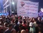 آلاف المواطنين يشاركون حزب حماة وطن فى الاحتفال بنصر أكتوبر ودعم الدولة وتأييد الرئيس..فيديو