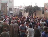 آلاف المواطنين يحتفلون بانتصار أكتوبر ودعم الدولة فى المنوفية.. صور