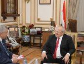 الخشت ومستشار الرئيس يناقشان إجراءات جامعة القاهرة للوقاية من كورونا