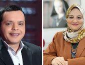 زينب عبداللاه تتحدث عن كوميديا هنيدى على موجات صوت العرب اليوم