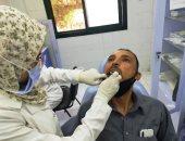 تقديم الخدمة الطبية لـ1297 مواطنا مجانا بقافلة قرية الإصلاح 3 بالحسينية