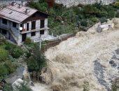 فيديو وصور صادمة من فرنسا بعد اجتياح العاصفة آليكس منطقة جبلية محيطة بنيس