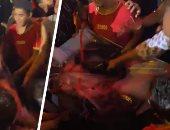"""ضرب صورة محمد على بـ""""الجزم"""" في احتفالات ذكرى نصر أكتوبر ودعم الدولة والرئيس"""