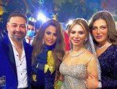 النجمة ريهام حجاج تتألق خلال حضورها حفل زفاف أمير شاهين.. ألبوم صور