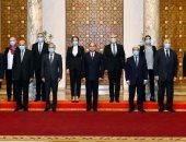 الرئيس السيسى لشباب القضاة: حريصون على تطوير المنظومة القضائية