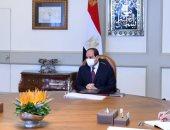 السيسى يبحث مع عمر مروان موقف الإصدارات الجديدة المؤمنة لوثائق وزارة العدل