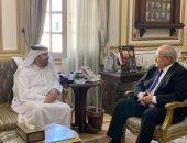الخشت يستعرض مع مدير مؤسسة محمد بن راشد للمعرفة مبادرات جامعة القاهرة