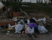 """شكاوى من انتشار القمامة وطفح الصرف الصحى بشوارع رأس البر """"صوب"""""""