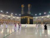 لبيك اللهم لبيك.. وصول أول وفود المعتمرين للمسجد الحرام بعد توقف 7 أشهر