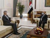 رئيس العراق يبحث مع سفير واشنطن دعم إجراءات حماية البعثات الدبلوماسية