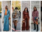 شاهدى الـ Street Style خلال أسبوع الموضة فى باريس لربيع 2021