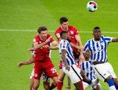 """""""سوبر هاتريك"""" ليفاندوفسكي يقود بايرن ميونخ لإسقاط هيرتا برلين 4-3 بالبوندسليجا.. فيديو"""