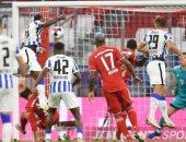 ملخص وأهداف مباراة البايرن ضد هيرتا برلين 4-3 في أفضل مباريات الدوري الألماني