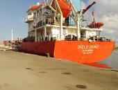 شحن 3200 طن صودا كاوية وتداول 33 سفينة بموانئ بورسعيد