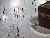 الحرم المكى يفتح أبوابة للمعتمرين بشرط التباعد الاجتماعى.. ألبوم صور