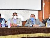 رئيس جامعة بنى سويف: لا مساس بنفقات وتكاليف العلاج