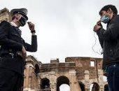 إيطاليا تنشر الجيش والشرطة لمراقبة احترام قيود كورونا فى الشوارع.. صور