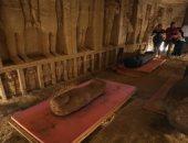 موقع إيطالي يشيد باكتشافات سقارة الأثرية ويؤكد قدرة مصر على إبهار العالم