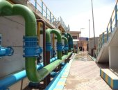 الانتهاء من رفع كفاءة وتأهيل 7 محطات مياه وتطهير للآبار بالمحلة والسنطة (صور)