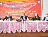 رئيس جامعة بنى سويف يوجه بإنشاء مصنع للأدوية وصندوق زمالة للعاملين (صور)