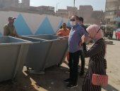 رفع تراكمات القمامة وكنس الأتربة خلال حملة نظافة مكبرة بالمحلة.. صور