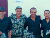 تامر عاشور يحتفل بذكرى نصر أكتوبر بصورة من تأديته الخدمة العسكرية