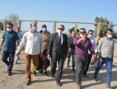 محافظ القليوبية يتفقد المشروعات الجديدة بمركز ومدينة شبين القناطر