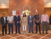 وفد باكستاني يزور غرفة القاهرة التجارية لبحث إقامة استثمارات مشتركة
